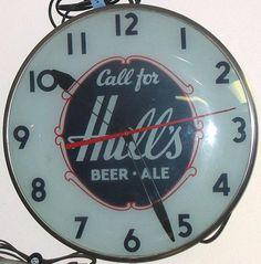 Hull's Beer-Ale Telechron clock