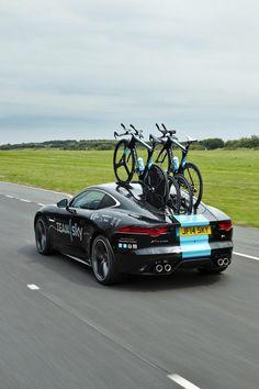 Team Sky's Jaguar S20C I think I need a new bike hauler!
