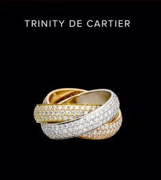 Cartier Trinity Ring...