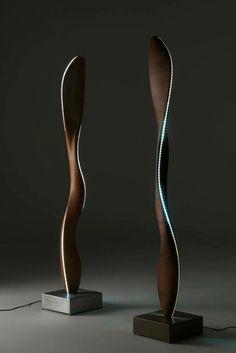 Fiamma Lamp from Riva1920 by Karim Rashid