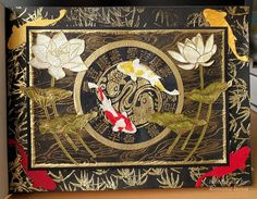 """24.7.2016 Playful art journal page 14. Black Dylusions paint, gold embossing, stamping, Distress ink pads and alcohol markers in Seawhite hardcover art journal (25x19 cm / 10""""x7.5"""").   http://romanassunnycreation.blogspot.ch"""