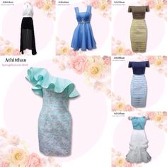 """Athitthan Spring/Summer Collection 2015 """"Cocktail in the Garden"""""""