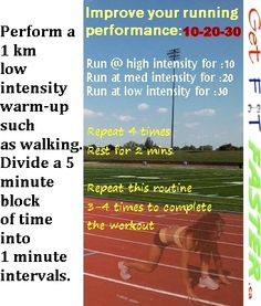 Join us free @ www.getfitfaster.ca for more workouts, motivation, healthy recipes, and join our runner's group there for additional running support, information, and encouragement!