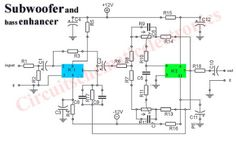 This is circuit of Subwoofer Car Power Amplifier BTL stereo channel audio power amplifier based IC TA 8215 residential by Toshiba. modish this power amplifier circuit, two TA 8215 ICs are used. Diy Subwoofer, Subwoofer Speaker, Powered Subwoofer, Wireless Speakers, Dc Circuit, Circuit Diagram, Class D Amplifier, Stereo Amplifier, Dayton Audio