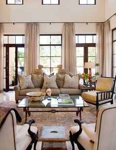 The soft color palette of this room offers relaxing comfortable space. The character of the interiors communicates an attitude of style and sophistication. The interiors are not only inviting but truly livable.