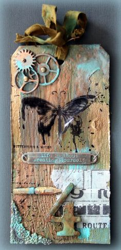 April tag Tim Holtz door  cora hoekstra
