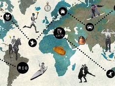 Matkalla Rioon -verkko-oppimismateriaali johdattaa olympialaisten historiaan…