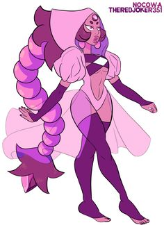 Fusion between Nocowa 's Nambulite and my Nambulite Nocowa did the wonderful lines And I did the colors ; Steven Universe Fan Fusions, Steven Universe Theories, Steven Universe Characters, Steven Universe Drawing, Pink Diamond Steven Universe, Steven Universe Funny, Universe Art, Character Concept, Character Art