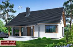 Projekt domu Talia, wizualizacja 3 Exterior, Sweet Home, Outdoor Decor, Modern, House, Inspiration, Home Decor, Houses, Projects
