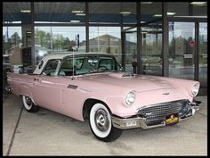 1957 Ford Thunderbird E-Code 312 CI, Automatic Dana Mecum's 27th Original Spring Classic 2014 May 13-18, 2014