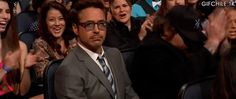 ...can we please just take in Robert Downey Jr.'s face when he found out he won the PCA :) :) :)