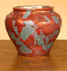 [Iridescent Pottery by Paul J. Katrich (0737)]