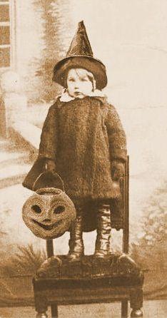 Tiny witch.