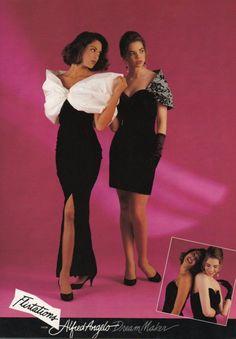 I remember those dresses! 90s Prom Dresses, 80s Dress, Gala Dresses, Retro Dress, Punk Prom, 80s Prom, 80s And 90s Fashion, Women's Fashion, High Fashion
