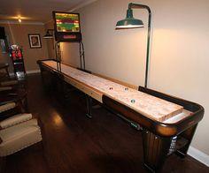 Shuffleboard Rock Ola. Shuffleboard TableMichigan Usa