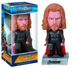 Cabezón Los Vengadores 2012 (The Avengers). Thor, Wacky Wobbler. Funko