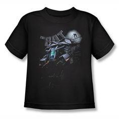 Batman Dark Knight Rises Patrol The Skies Kids T-Shirt