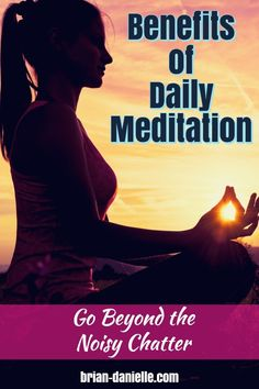 benefits of daily meditation allow you to escape from all the chatter of the analytical mind allowing you to listen within. Learn the benefits of meditation and go beyond the noisy chatter. Meditation for beginners. Morning Meditation, Meditation Benefits, Meditation Quotes, Healing Meditation, Meditation Practices, Mindfulness Meditation, Meditation Space, Buddhism For Beginners, Meditation For Beginners