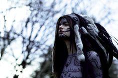 LIZARD HEADDRESS featured by stylist Kimi O'neill