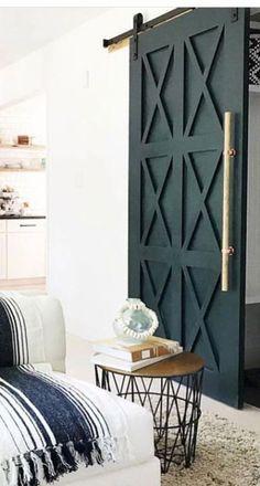 Barn Style Sliding Doors, Modern Sliding Doors, Modern Barn Doors, Modern Entrance, Double Doors, Barn Door Handles, Door Knobs, Door Latches, Sliding Door Handles