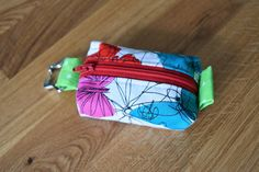 Erin Rowley Designs Butterfly Teeny Tiny Zipper Pouch, Zipper Pouch, Coin Purse, Coin Pouch, Small Bag, Zipper Bag, Keychain Pouch, Key Ring, Key Fob