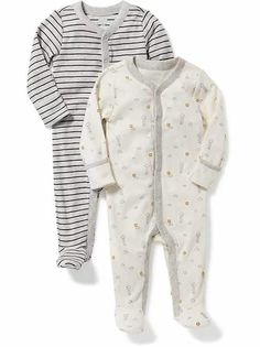 Shop the Oh Baby! collection for the latest styles in clothes for baby girls. Old Navy is your one-stop shop for stylish and comfortable baby clothes at affordable prices. Baby Boy Pajamas, Boys Sleepwear, Girl Outfits, Cute Outfits, Unisex Baby Clothes, Maternity Wear, Cute Babies, Old Navy, One Piece