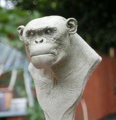 ape bust by ~BOULARIS on deviantART