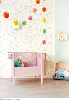 Phrog Designs - Quality Baby and Children's Decor Baby Wall Decor, Nursery Room Decor, Kids Bedroom, Nursery Ideas, Casa Kids, Bright Nursery, Creative Kids Rooms, Kids Wallpaper, Little Girl Rooms
