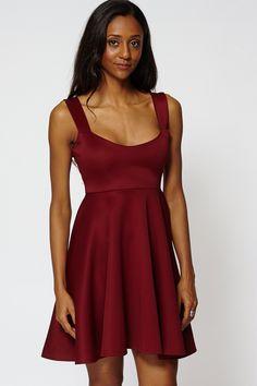 ScottyDirect - High Waist Skater Dress, $55.95 (http://www.scottydirect.com/high-waist-skater-dress/)