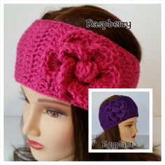 Lots of new colors to choose from. Fit pre-teen to adult. Charming hair accessory. This listing is for one headband which fits pre-teen to