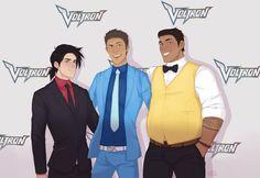 Keith / Lance | Hunk *Voltron: Legendary Defender*