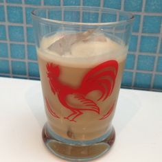 Russian Coconut Cocktail - Kahlua, vodka, and coconut milk!