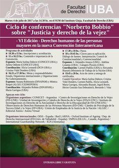 Argentina:Ciclo de conferencias sobre justicia y derecho en la vejez | Central Informativa del Adulto Mayor