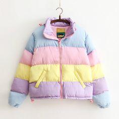 Image result for kawaii rainbow jackets