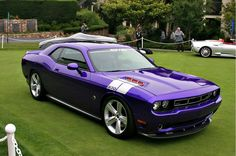 Dodge Challenger. Hot.,
