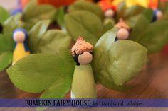 Lizards and Lullabies: DIY Craft: Pumpkin Fairy House