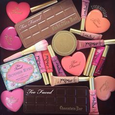 #regram from @sydsbeautygram: I  #toofaced products. Not only are the products awesome, they absolutely kill it in their packaging as well!  What's your favorite Too Faced product? I think my next purchase will be the Natural Matte palette.
