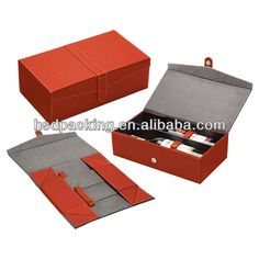 Source Elegant customized cardboard folding wine box/ flip top paper wine box/ popular paper wine bottle box supplier on m.alibaba.com Wine Boxes, Box Supplier, Bottle Box, Wine Packaging, Decorative Boxes, Leather, Popular, Elegant, Paper