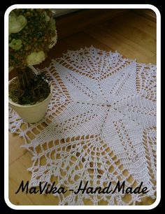 Crochet,doily,tablecloth,napkin,hook
