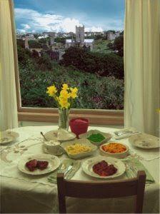 St David's Day menu from AmeriCymru #StDavidsDay