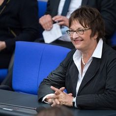 New Federal Minister of Economy Brigitte Zypries is sworn into German Parliament