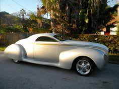1939 Lincoln Zephyr Custom 2 door