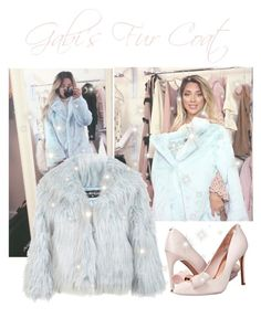 """""""Gabi's Fur Coat Outfit ♡"""" by xx-isabella-xx ❤ liked on Polyvore featuring Miss Selfridge and Ted Baker"""