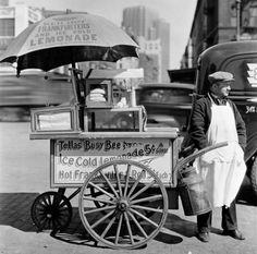 1800's food cart