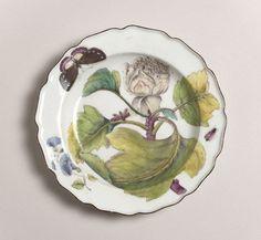 Chelsea Porcelain Factory, Botanical  (1752-1756)