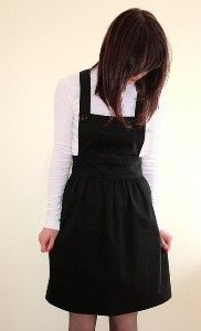 Pinafore dress on etsy