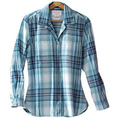 Filson® Women's Indigo Plaid Shirt at Cabela's