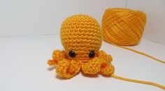FREE no sew crochet pattern for octopus