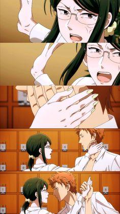 Kabakura Tarou x Hanako Koyanagi / Wotaku ni Koi wa Muzukashii M Anime, Otaku Anime, Koi, Gekkan Shoujo, Manga Couple, Ecchi, Hard To Love, Cute Anime Couples, Funny Love