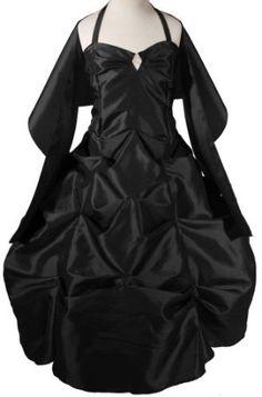 AMJ Dresses Inc Girls Black Flower Girl Formal Dress Sizes 4 to 14,